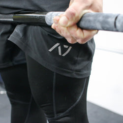 SQUAT SHORTS - BLACK