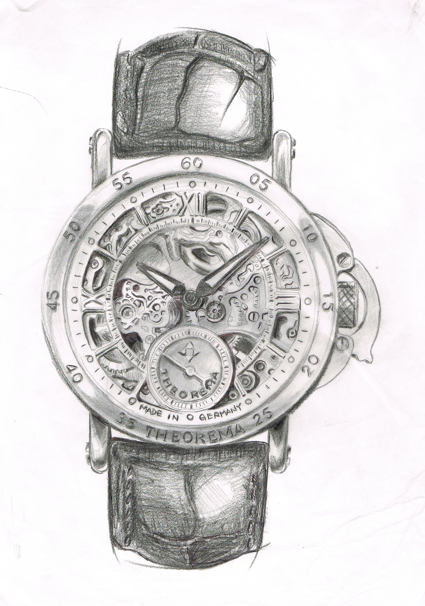 philippe original drawing history calatrava part watches patek of reference the