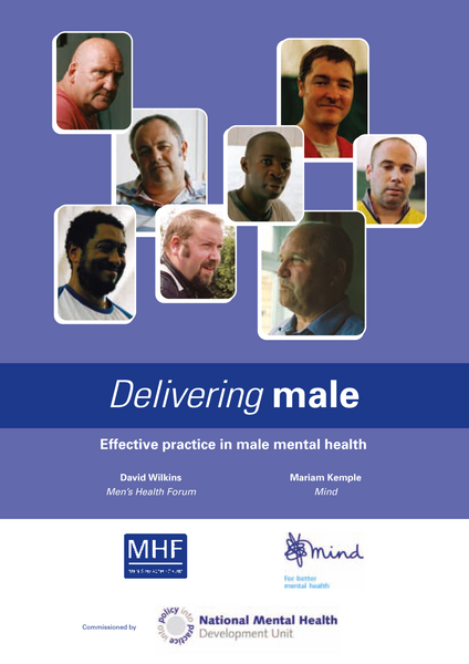 Delivering Male: Effective practice in male mental health