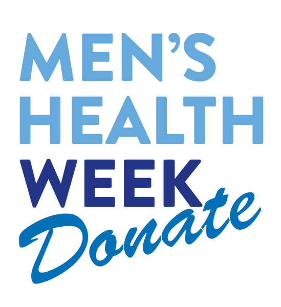 Donate now - help us do more in Men's Health Week