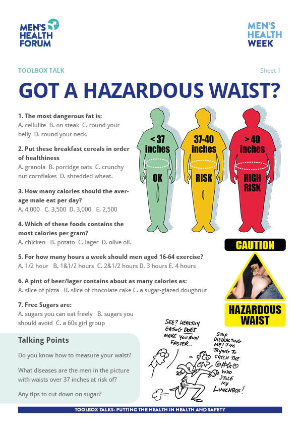 Hazardous Waist Toolbox Talk (PDF)