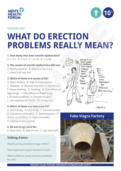 Toolbox Talk 10: What do erection problems really mean? (PDF + 3 days trial video)