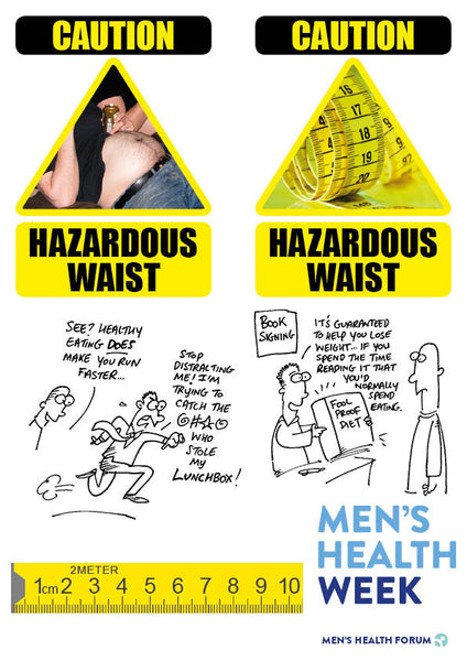 Men's Health Week 2017 - logos, icons, cartoons (zip)