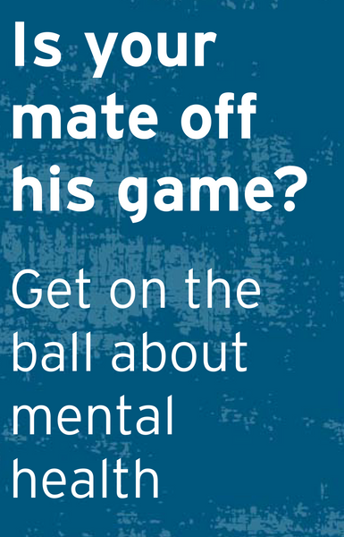 Is Your Mate Off His Game: Talking Tips Card