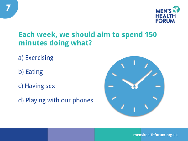 #menshealthweek Men's Health By Numbers Quiz Slideshow (pdf)
