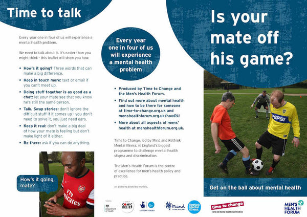 Is Your Mate Off His Game? Leaflet (PDF)