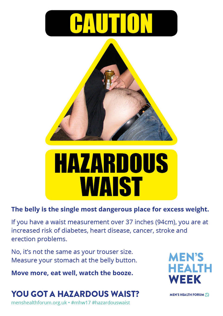 Hazardous Waist big icon poster (PDF)