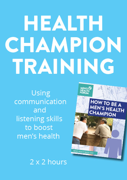 Men's Health Champions Training