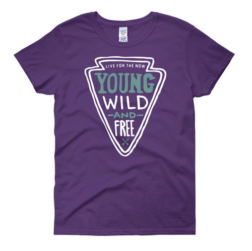 Young, Wild and Free Women's T-Shirt