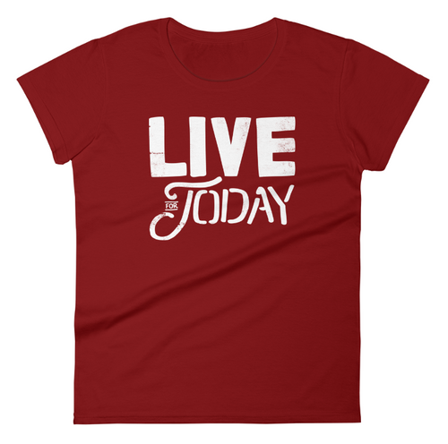 Live For Today Independence Red Women's T-Shirt