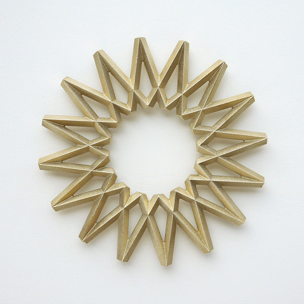 Galaxy Brass Trivet