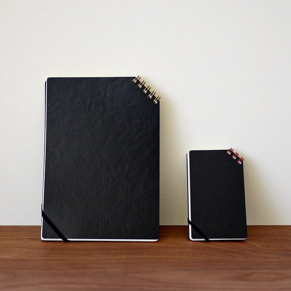 Diagonal Ring Notebook
