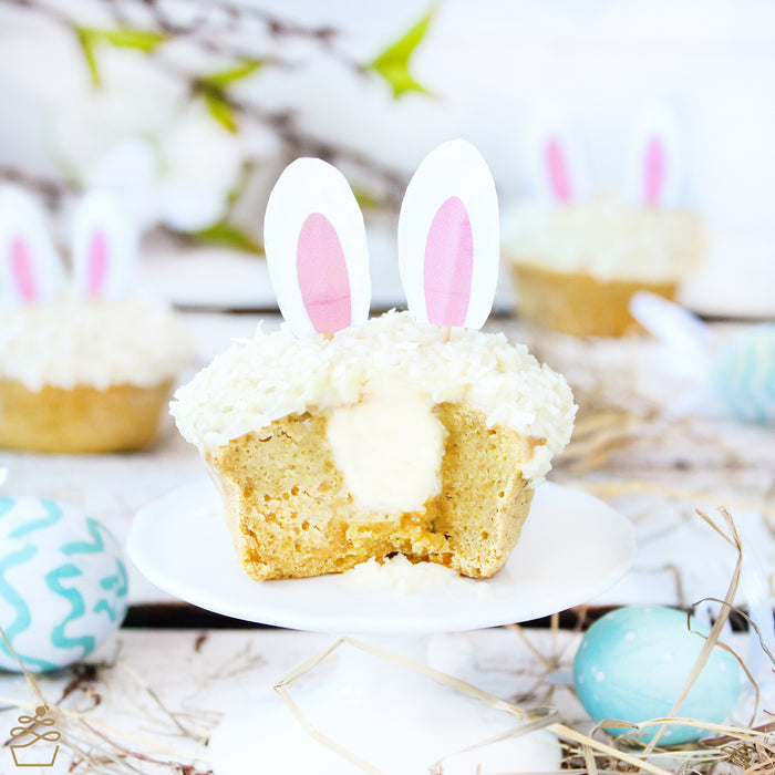 DIY | Easter Bunny Muffin Topper | Sweet Kitcen