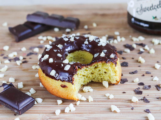 Chocolate Almond Donut