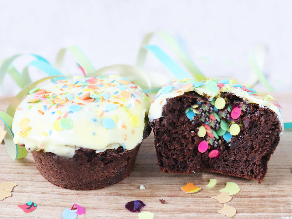 Konfetti  Muffin Karneval Sweet Kitcen