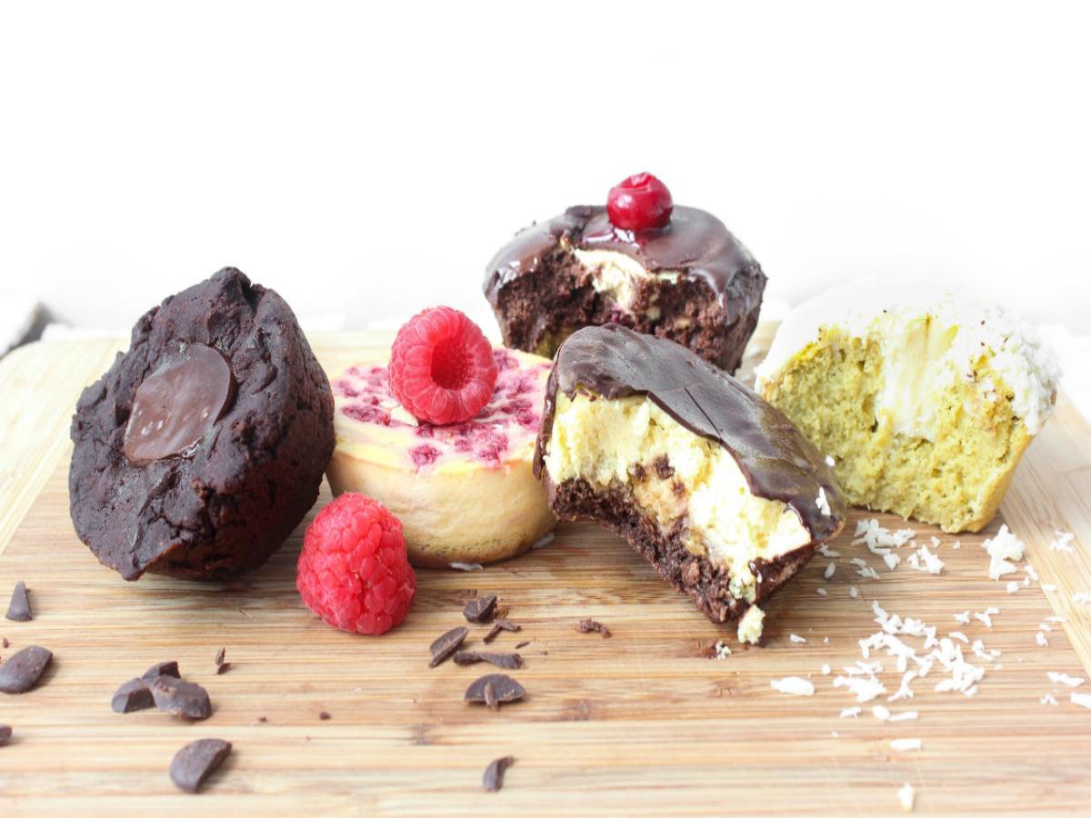 Bestseller Set  Muffins, Cheesecake, low carb