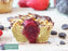 Vegan Vanilla Fruitcella Muffin, low carb, proteinreich