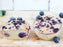 Vegan Blueberry Cheese Blaubeere Muffin, Zuckerfrei, Fettarm, low carb
