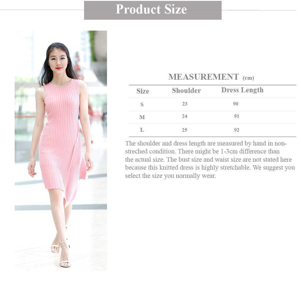 Pink Dress Size Guide