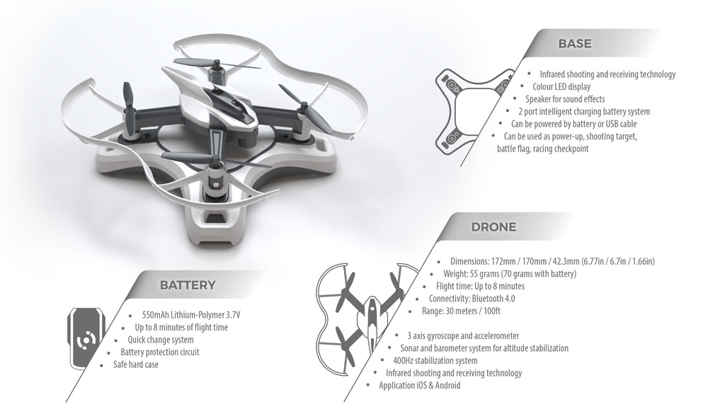 Drone n base specification