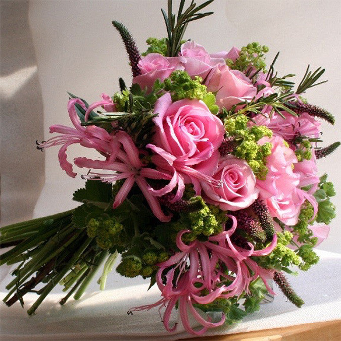 Pink summer bouquet