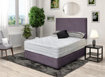 DFI Kingsize (5ft)  Premium Divan Bed with  Headboard  Option