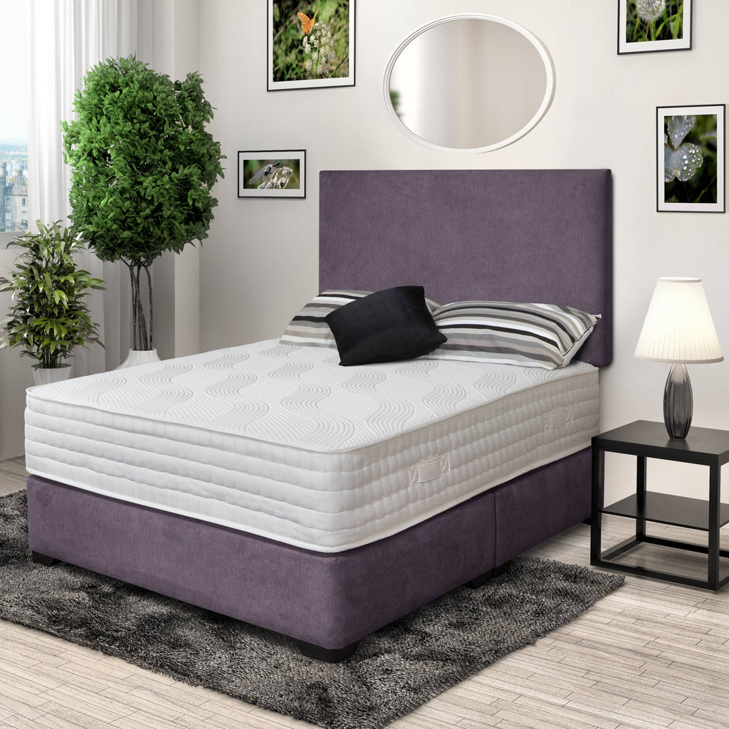 DFI Double (4ft6) DFI Premium Divan Bed with Headboard Option