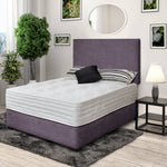 DFI Double (4ft6) DFI Premium Divan Bed with Headboard Option (4789425438791)