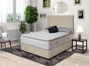 DFI Beige Divan Bed Set (No Mattress)