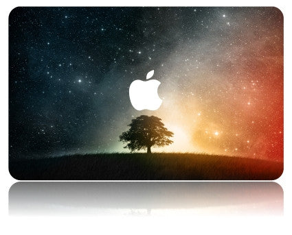 Macbook Case | Galaxy Space Collection - Lonely Tree - Case Kool