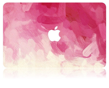 Macbook Case | Oil Painting Collection - Pink Paint - Case Kool