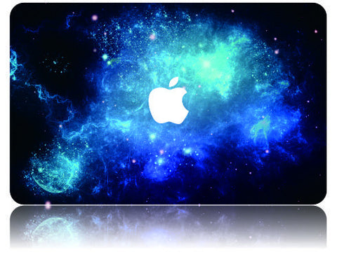 Macbook Case | Galaxy Space Collection - Blue 2 - Case Kool