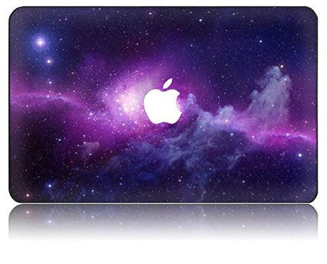 Macbook Case | Galaxy Space Collection - Purple - Case Kool