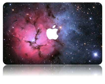 Macbook Case | Galaxy Space Collection - Red Blue Space - Case Kool