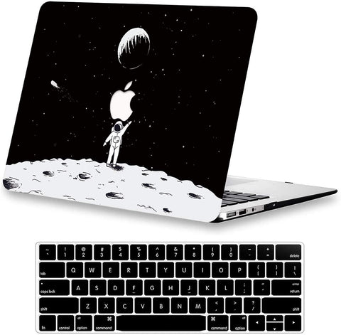 Macbook Case with Keyboard Cover Package | Moon