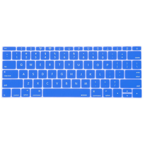 Macbook Ultra-Thin Keyboard Cover - Blue (US keyboard) - Case Kool