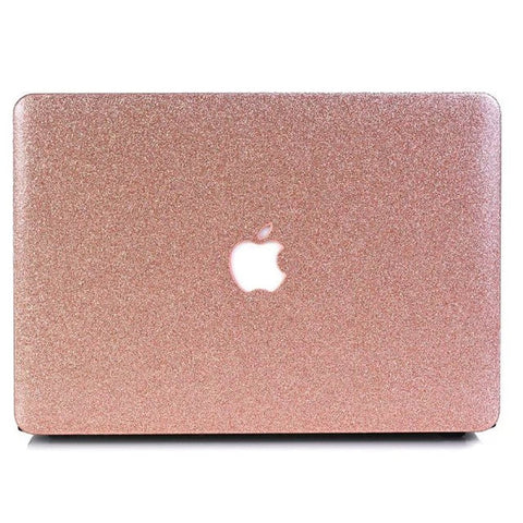 Macbook Case | Color Collection - Sparkly Rose Gold - Case Kool