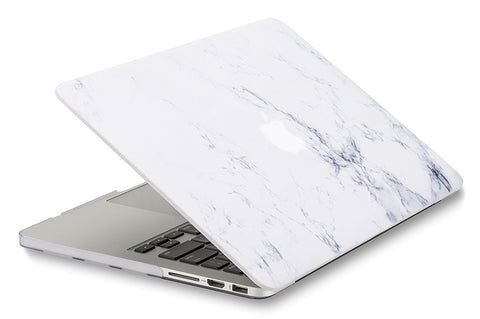 timeless design 670f2 760ea Macbook Case | Marble Collection - White Marble