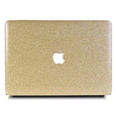 Macbook Case | Color Collection - Sparkly Gold - Case Kool