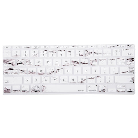 Macbook Ultra-Thin Keyboard Cover - Marble (US/CA keyboard) - Case Kool