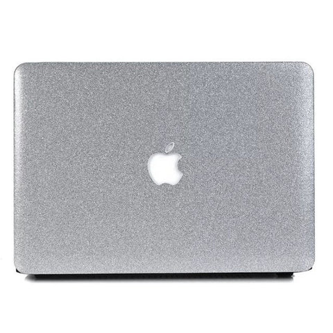 Macbook Case | Color Collection - Sparkly Silver - Case Kool
