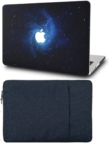 Macbook Case with Sleeve Package | Galaxy Space Collection - Blue - Case Kool