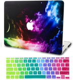 Macbook Case with Keyboard Cover Package | Colorful Space
