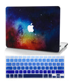 Macbook Case with Keyboard Cover Package | Galaxy Space Collection - Night Dream - Case Kool