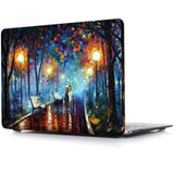 Macbook Case | Oil Painting Collection - Rainy Night - Case Kool