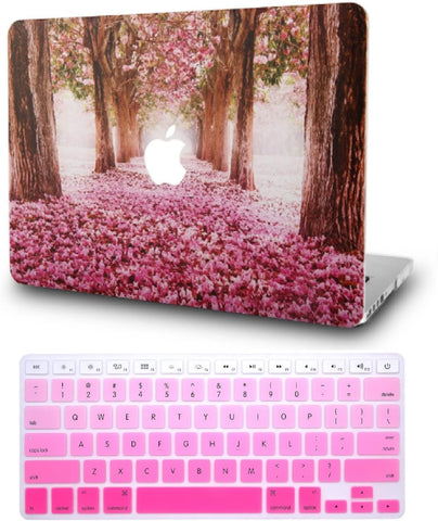 Copy of Macbook Case with Keyboard Cover Package |  Cherry Blossoms