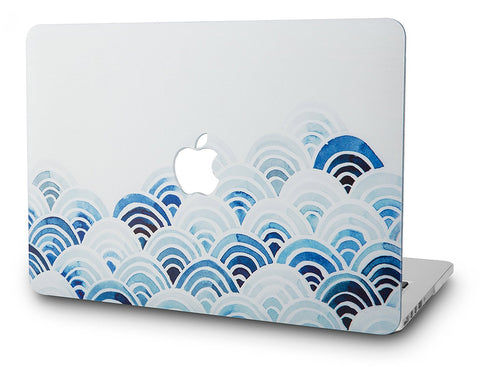 Macbook Case | Oil Painting Collection - Wave - Case Kool