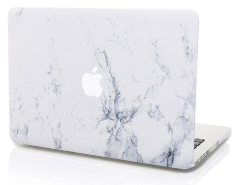Macbook Case | Marble Collection - White Marble - Case Kool