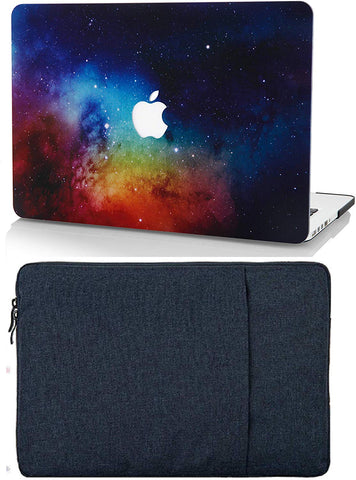 Macbook Case with Sleeve Package | Galaxy Space Collection - Night Dream - Case Kool