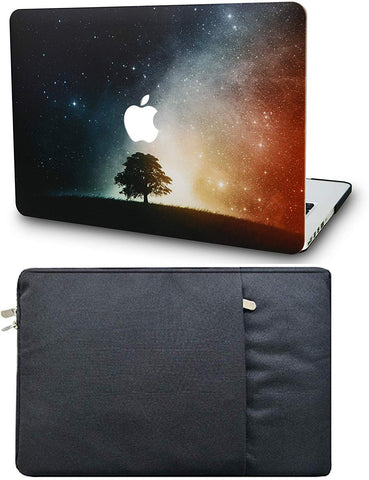 Macbook Case with Sleeve Package | Painting Collection - Lonely Tree - Case Kool